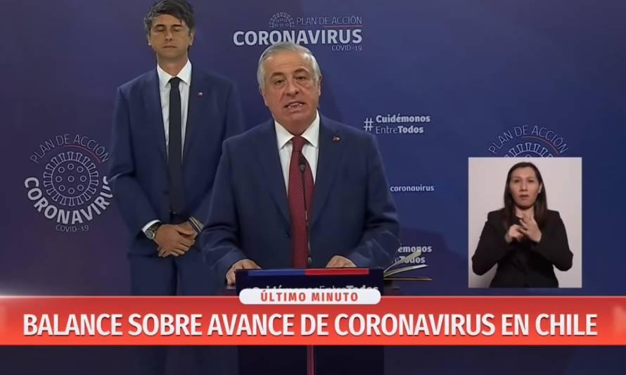 Covid-19: Ministro Mañalich confirma cuarto fallecido en Chile por coronavirus