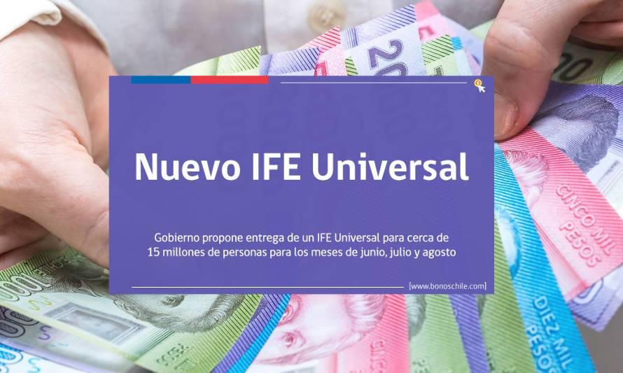 Rubilar confirma ampliación de plazo para inscribirse al IFE Universal